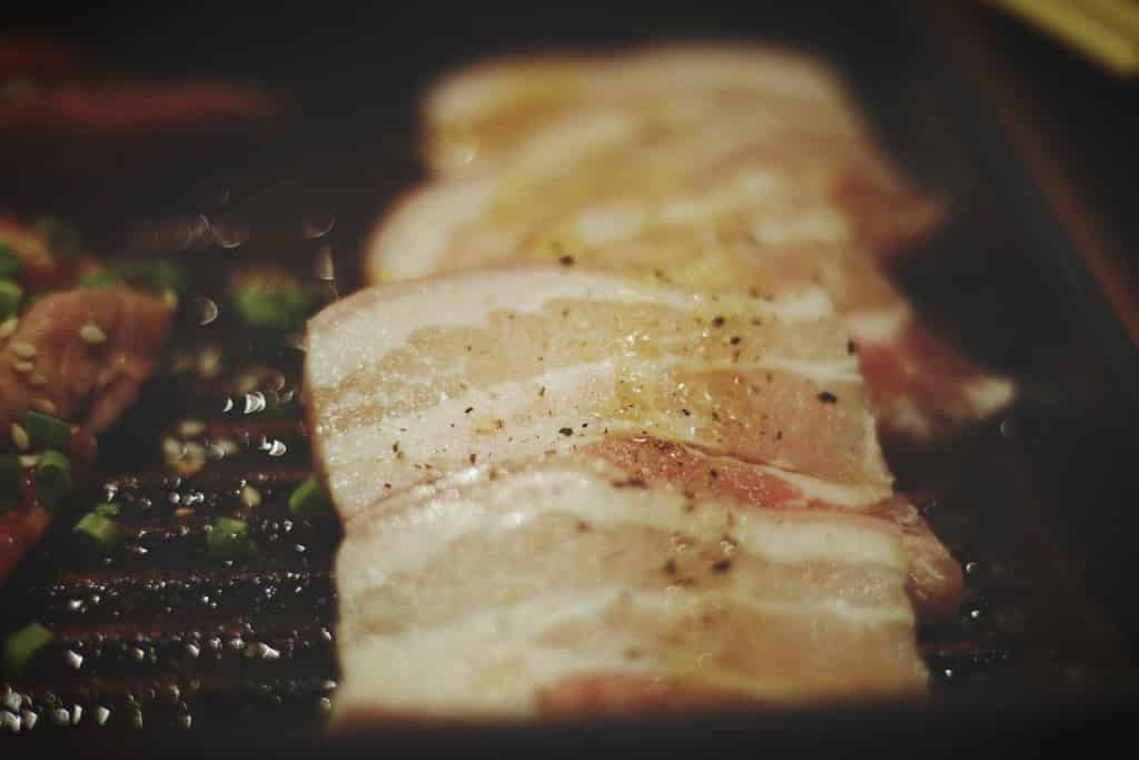 Speck Gasgrill mit Bratenthermometer